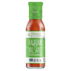 PRIMAL KITCHEN ORGANIC HAWAIIAN BBQ SAUCE 8.5 OZ BOTTLE