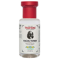 THAYERS TRIAL SIZE ALCOHOL FREE WITCH HAZEL CUCUMBER FACIAL TONER 3 OZ BOTTLE