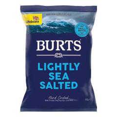BURTS SEA SALT CHIPS 5.3 OZ BAG