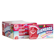 AIRHEADS GUM SUGAR FREE RASPBERRY LEMONADE