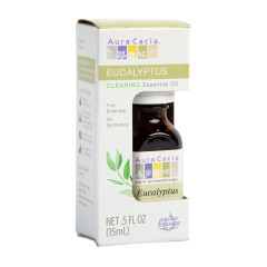 AURA CACIA BOXED EUCALYPTUS ESSENTIAL OIL 0.5 BOTTLE