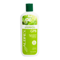 AUBREY ORGANICS GPB SHAMPOO ROSEMARY MINT 11 OZ BOTTLE