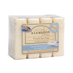 A LA MAISON FRESH SEA SALT 4 VALUE PACK 3.5 OZ BARS