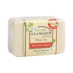 A LA MAISON WHITE TEA SOLID SOAP 8.8 OZ BAR
