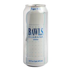 BAWLS GUARANA SODA CANS ZERO 16 OZ CANS