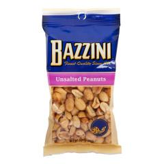 BAZZINI UNSALTED PEANUTS 3.5 OZ PEG BAG