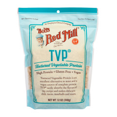 BOB'S RED MILL TEXTURED VEGETABLE PROTEIN 12 OZ POUCH