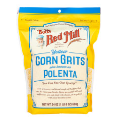BOB'S RED MILL CORN GRITS POLENTA 24 OZ PEG BAG