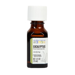 AURA CACIA EUCALYPTUS ESSENTIAL OIL 0.5 OZ BOTTLE