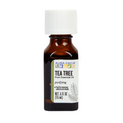 AURA CACIA TEA TREE ESSENTIAL OIL 0.5 OZ BOTTLE