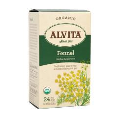 ALVITA TEA - FENNEL SEED TEA BAGS - ORGANIC - 24CT - 6CS