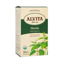ALVITA TEA - NETTLE LEAF TEA BAGS - ORGANIC - 24CT - 6CS