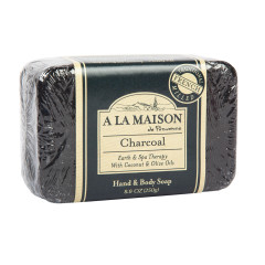 A LA MAISON - SOLID BAR SOAP - CHARCOAL - 8.8OZ
