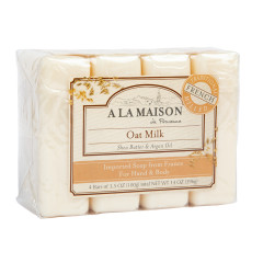 A LA MAISON OAT MILK 4 VALUE PACK 3.5 OZ BARS