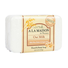 A LA MAISON OAT MILK SOLID SOAP 8.8 OZ BAR