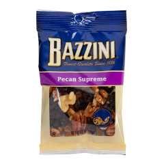 BAZZINI PECAN SUPREME 2 OZ PEG BAG