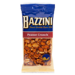 BAZZINI PEANUT CRUNCH 3 OZ PEG BAG