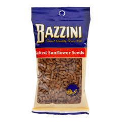 BAZZINI - SUNFLOWER - SEEDS - SALTED - 3OZ