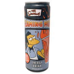 SIMPSONS FLAMING MOE ENERGY DRINK 12 OZ CAN