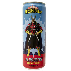 MY HERO ACADEMIA PLUS ULTRA ENERGY DRINK 12 OZ CAN