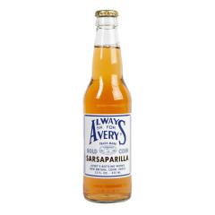 AVERY'S SARSAPARILLA SODA 12 OZ BOTTLE