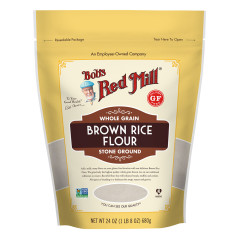 BOB'S RED MILL - BROWN RICE FLOUR - 24OZ