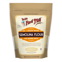 BOB'S RED MILL - SEMOLINA PASTA FLOUR - 24OZ