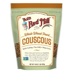 BOB'S RED MILL WHOLE WHEAT PEARL COUSCOUS 16 OZ POUCH