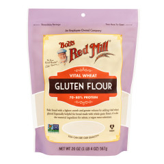 BOB'S RED MILL - VITAL WHEAT GLTN FLOUR - 20OZ