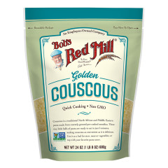 BOB'S RED MILL GOLDEN COUSCOUS 24 OZ POUCH