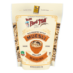 BOB'S RED MILL MUESLI CEREAL 40 OZ POUCH