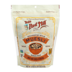 BOB'S RED MILL MUESLI 18 OZ BAG