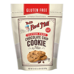 BOB'S RED MILL GLUTEN FREE CHOCOLATE CHIP COOKIE MIX 22 OZ BAG