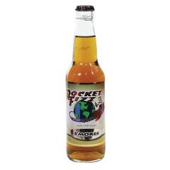 ROCKET FIZZ S'MORES SODA 12 OZ BOTTLE