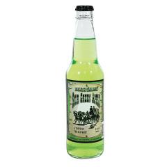 DEATH VALLEY GREEN APPLE SODA 12 OZ BOTTLE