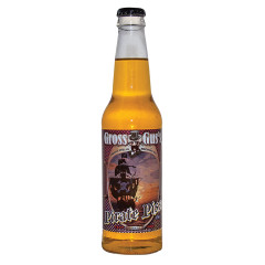 GROSS GUS PIRATE PISS BANANA SODA 12 OZ BOTTLE