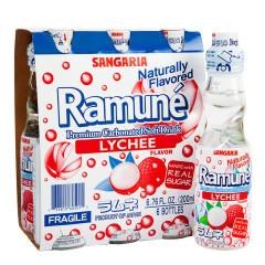 RAMUNE LYCHEE SODA 6.76 OZ BOTTLE