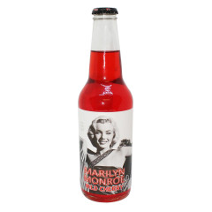 MARILYN MONROE WILD CHERRY SODA 12 OZ BOTTLE