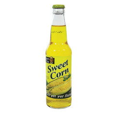 LESTER'S FIXINS SWEET CORN SODA 12 OZ BOTTLE
