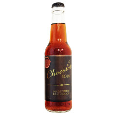 GOURMET CHOCOLATE SODA 12 OZ BOTTLE