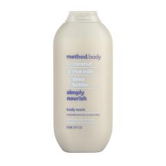 METHOD SIMPLY NOURISH BODY WASH 18 OZ BOTTLE