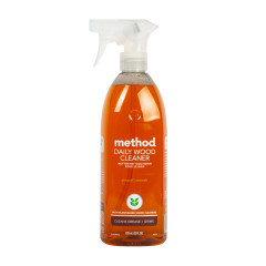 METHOD ALMOND DAILY WOOD CLEANER 28 OZ SPRAY BOTTLE