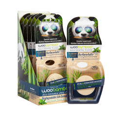 WOOBAMBOO BIODEGRADABLE 40 YARDS MINT FLOSS