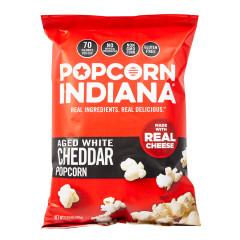 POPCORN INDIANA AGED WHITE CHEDDAR POPCORN 5.75 OZ BAG