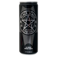 BLACK MAGIC ENERGY DRINK 12 OZ CAN