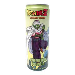 DRAGON BALL Z WARRIOR POWER ENERGY DRINK 12 OZ CAN