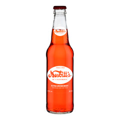 NESBITT'S STRAWBERRY SODA 12 OZ BOTTLE