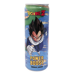DRAGON BALL Z POWER BOOST ENERGY DRINK 12 OZ CAN