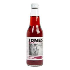 JONES DIET BLACK CHERRY SODA 12 OZ BOTTLE