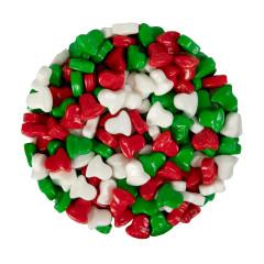 CHRISTMAS BELLS - RED/WHITE /GREEN - DEXTROSE